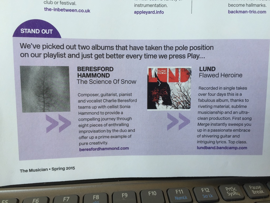 LUND Musician mag review